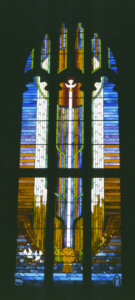 One of two finished windows